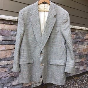 Austin Reed glen plaid sport coat 46 L
